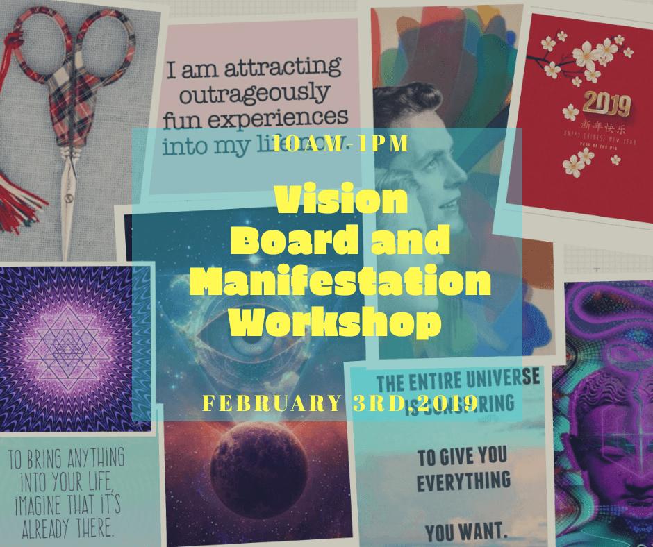 Vision Board and Manifestation Workshop